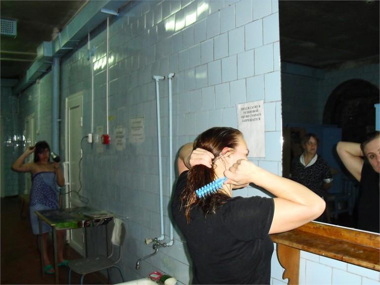 Фото из женского отделения бани