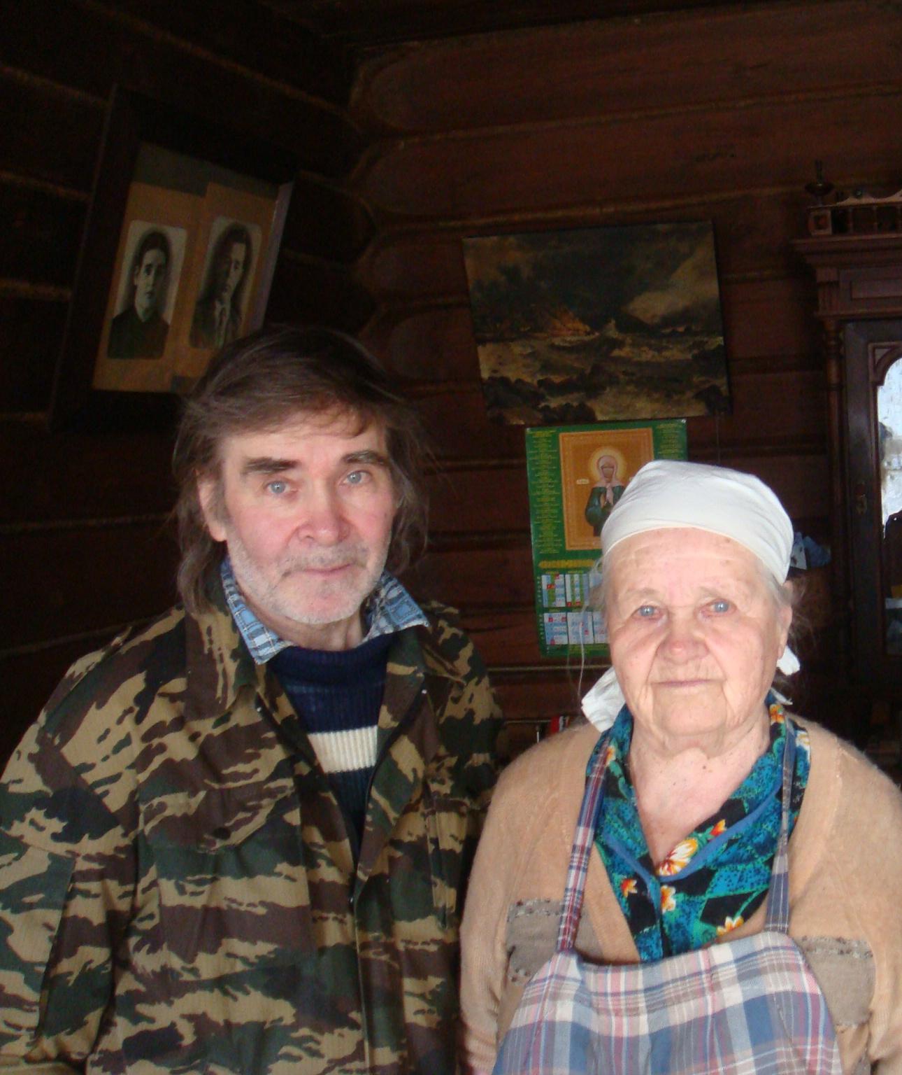 Александр Шорыгин с мамой