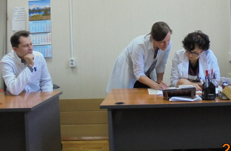 И.В. Лебедев, Н.М. Кулыгина, Е.В. Шляпникова - все - выпускники Ивановской медакадемии.