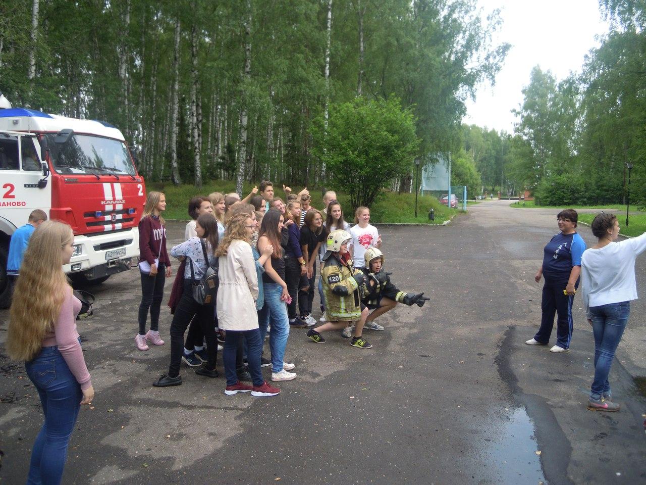 день знакомств в детском лагере